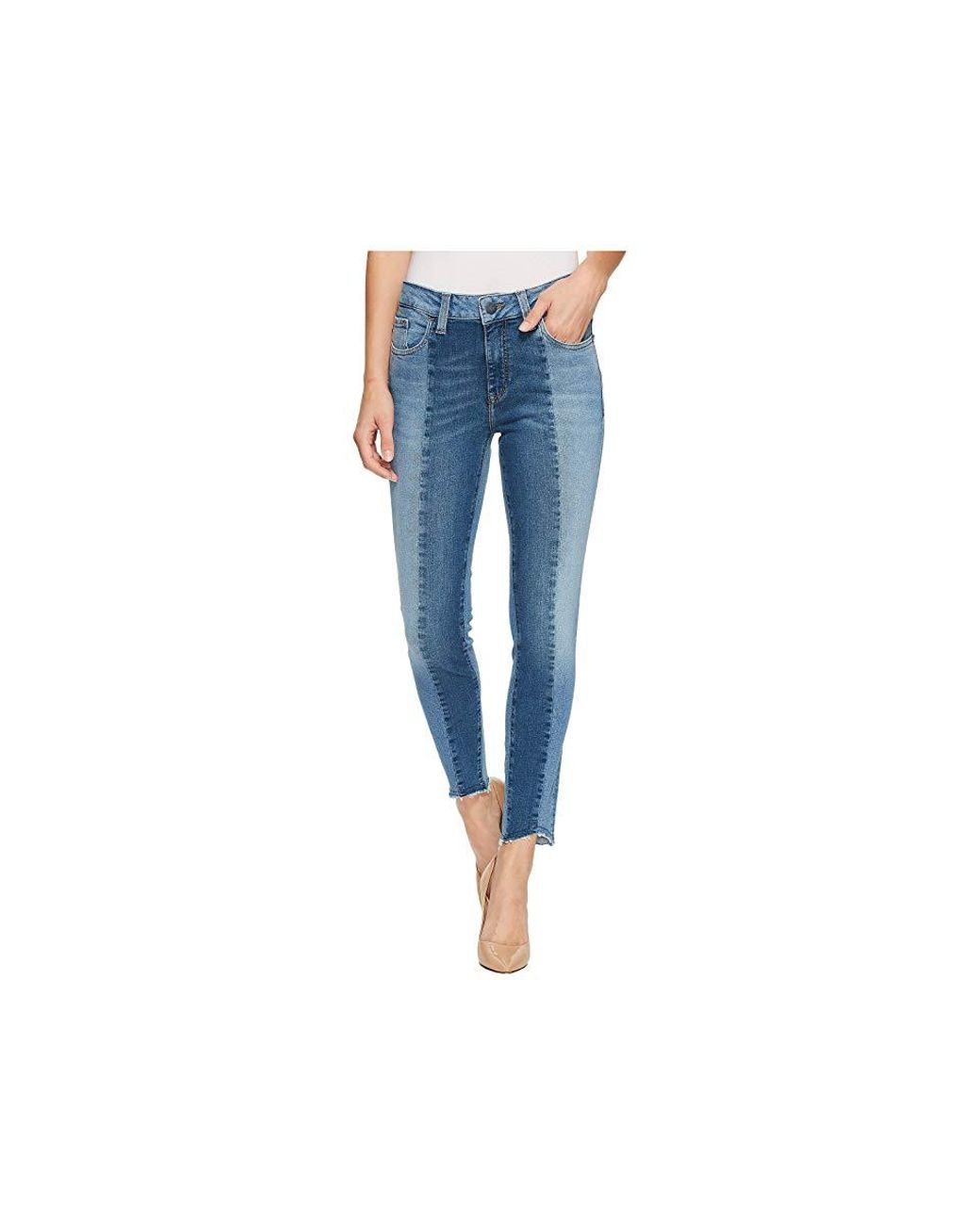 67f47470c Mavi Jeans Tess High-rise Super Skinny Ankle In Mid Shaded Blocking Gold  Icon (mid Shaded Blocking Gold Icon) Jeans in Blue - Save 35% - Lyst