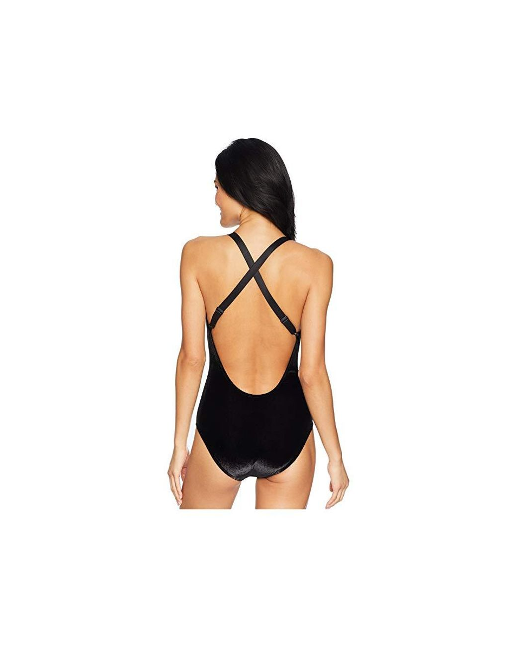 3f212ee2d2 Roxy Western Escape Velvet One-piece Swimsuit (anthracite) Swimsuits One  Piece in Black - Save 41% - Lyst