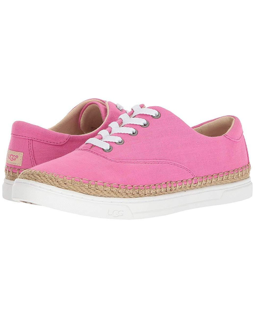 a1840d26b90 UGG Eyan Ii (pink Azalea) Lace Up Casual Shoes in Pink - Lyst