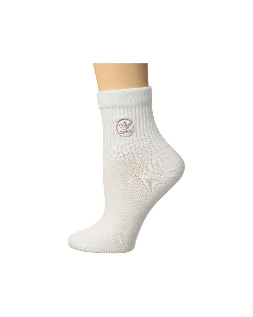 2790380e349f7 adidas Originals Originals Iconic Patch Single Quarter Sock (white ...