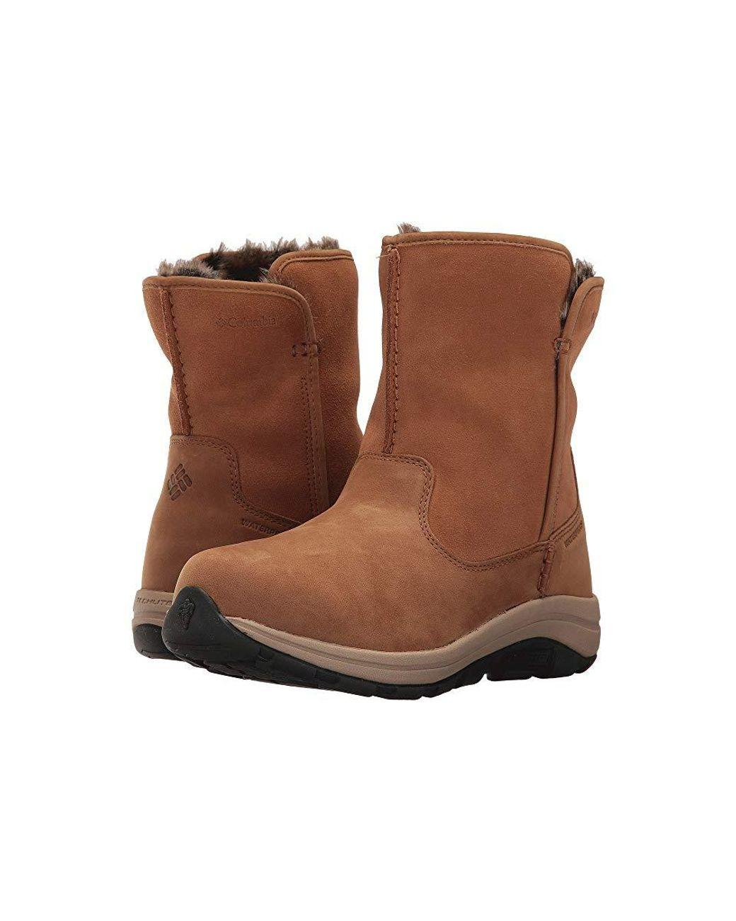 e0f8492d8f Columbia Bangor Slip Omni-heat (elk/oxford Tan) Shoes in Brown ...