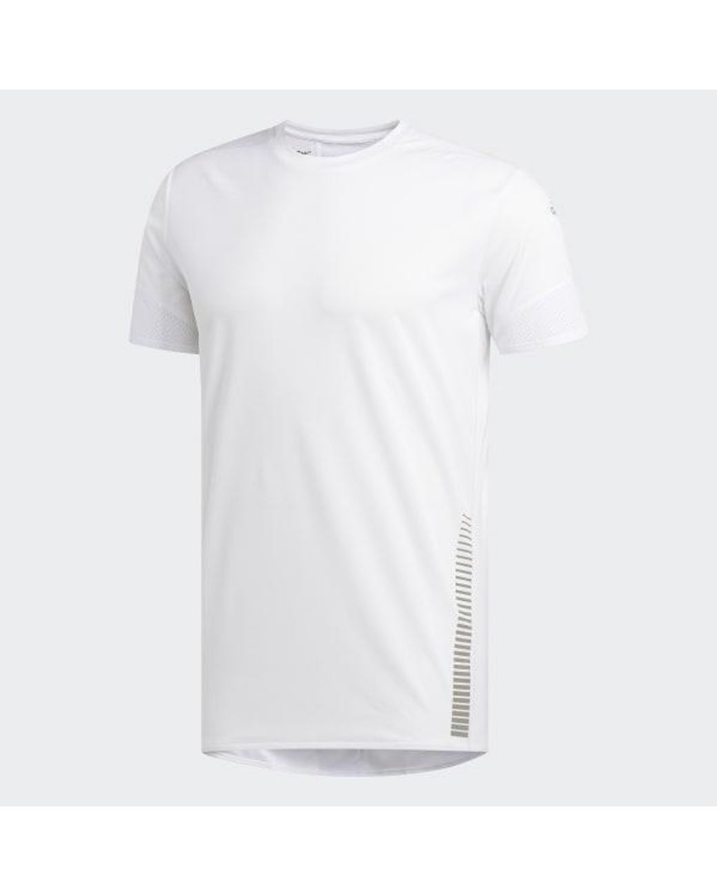 adidas 257 Rise Up N Run Parley Tee in White for Men Lyst