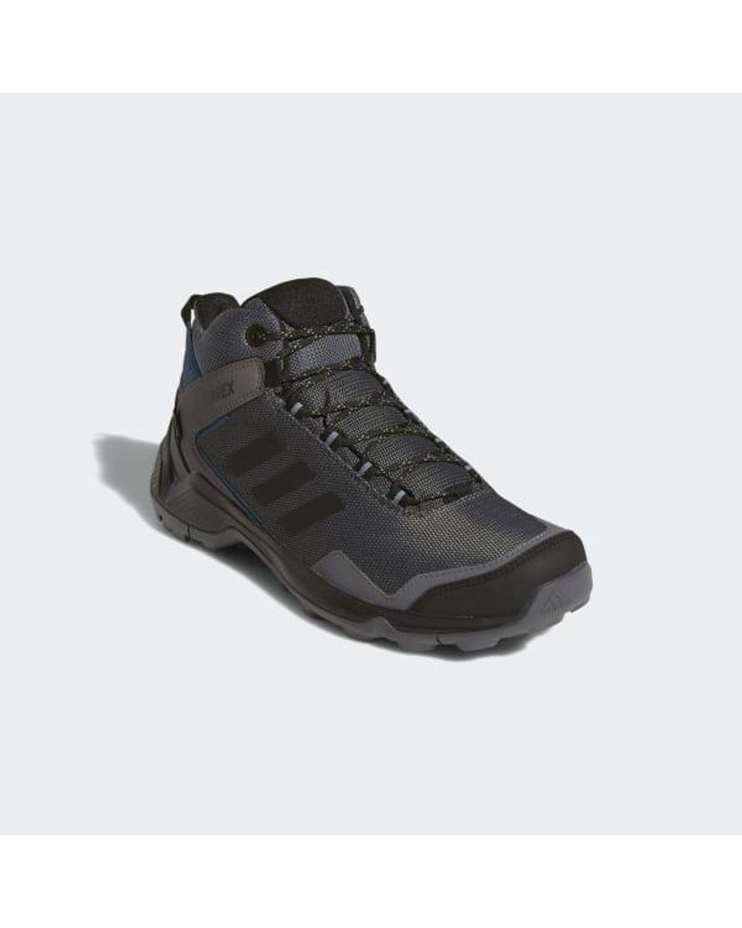 adidas Terrex Entry Hiker Mid Gore tex Shoes in Grey (Gray