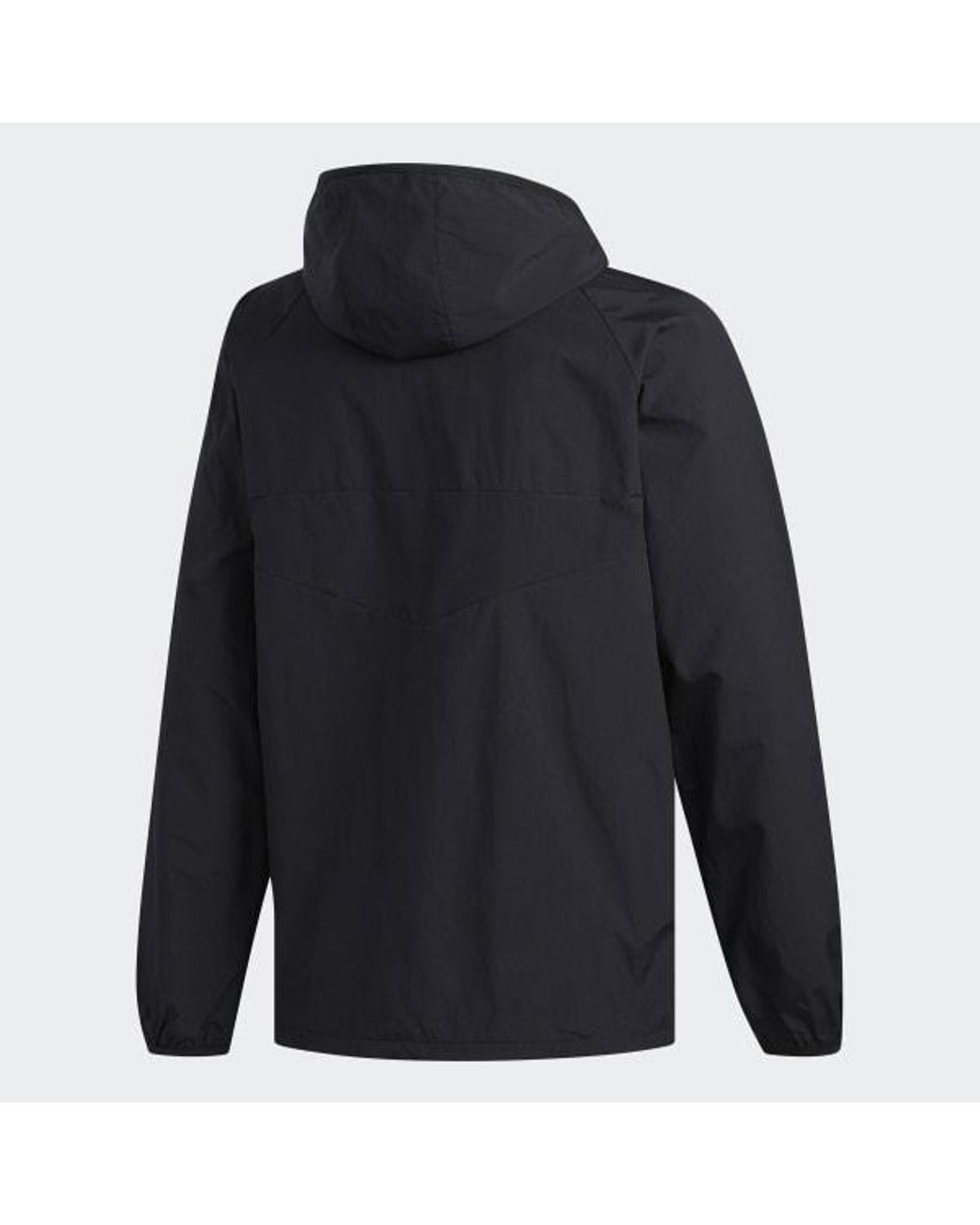 adidas Synthetic Dekum Packable Wind Jacket in Black for Men