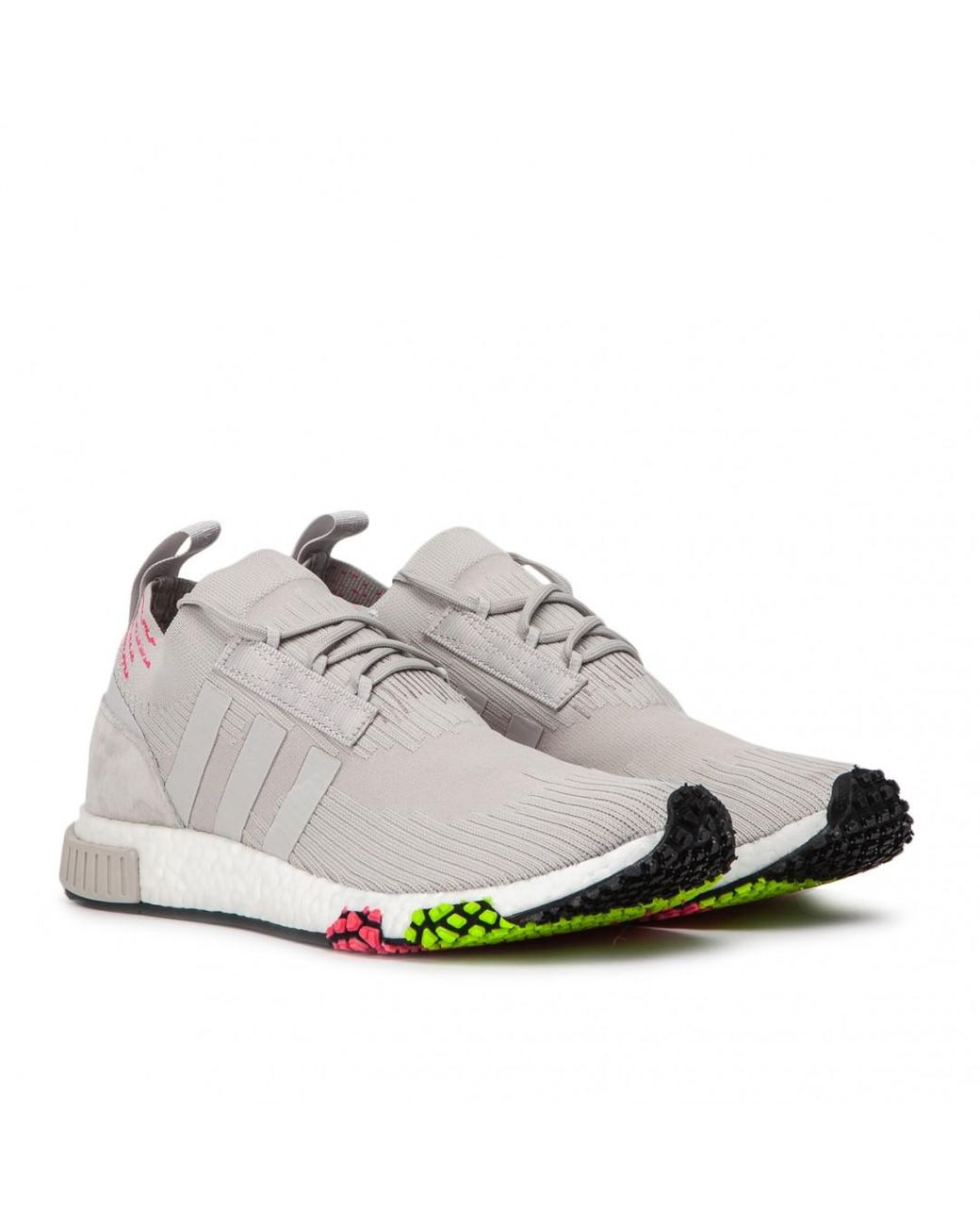 f372bdea9c355 adidas Nmd Racer Primeknit Trainer in Gray for Men - Save 37% - Lyst