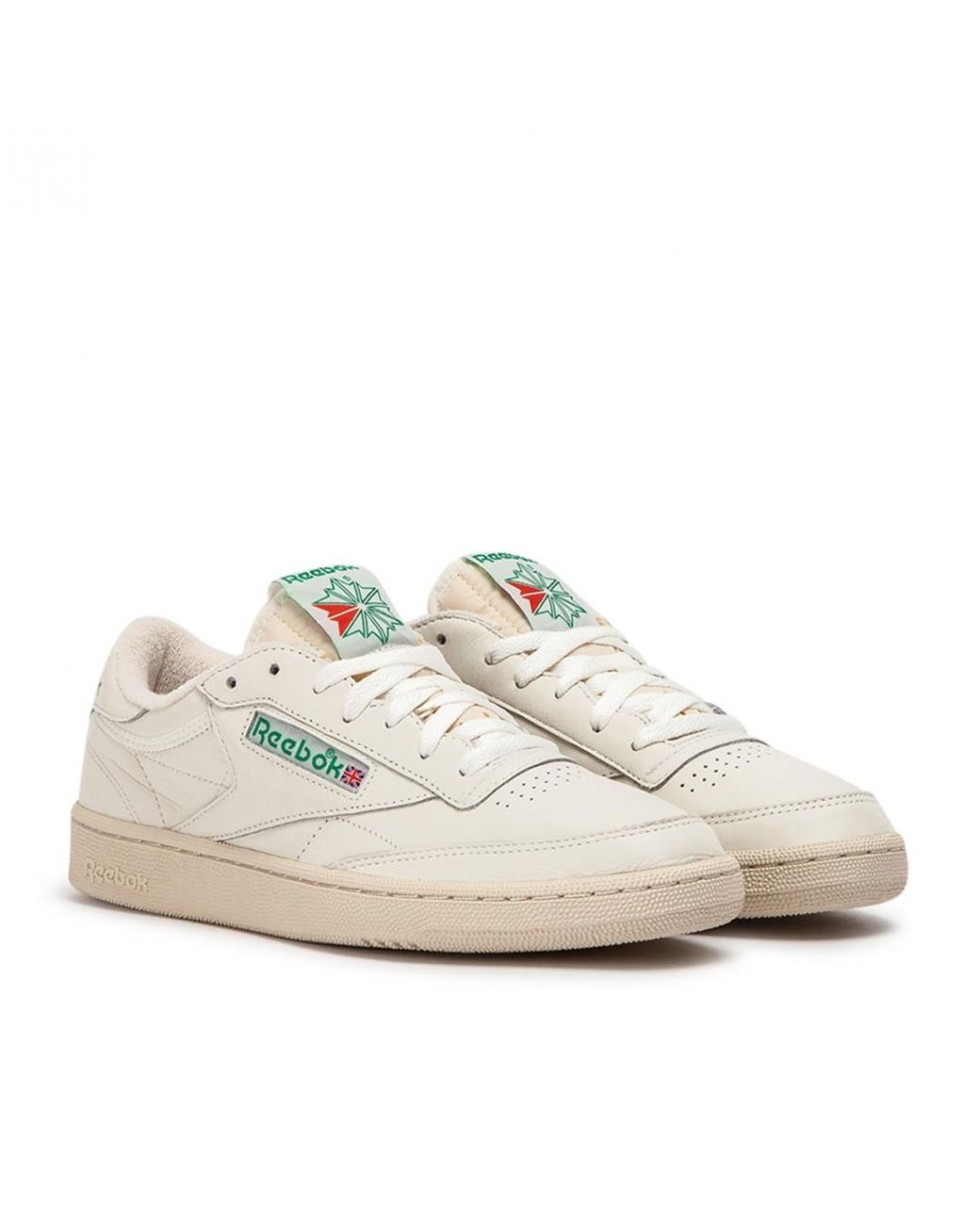 41fa99412ff16 Lyst - Reebok Club C 1985 Tv in Natural for Men