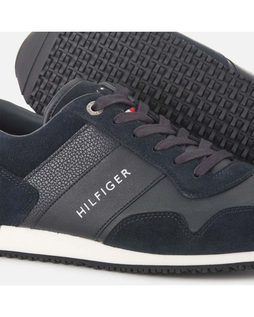 Tommy Hilfiger Iconic Leather/suede Mix