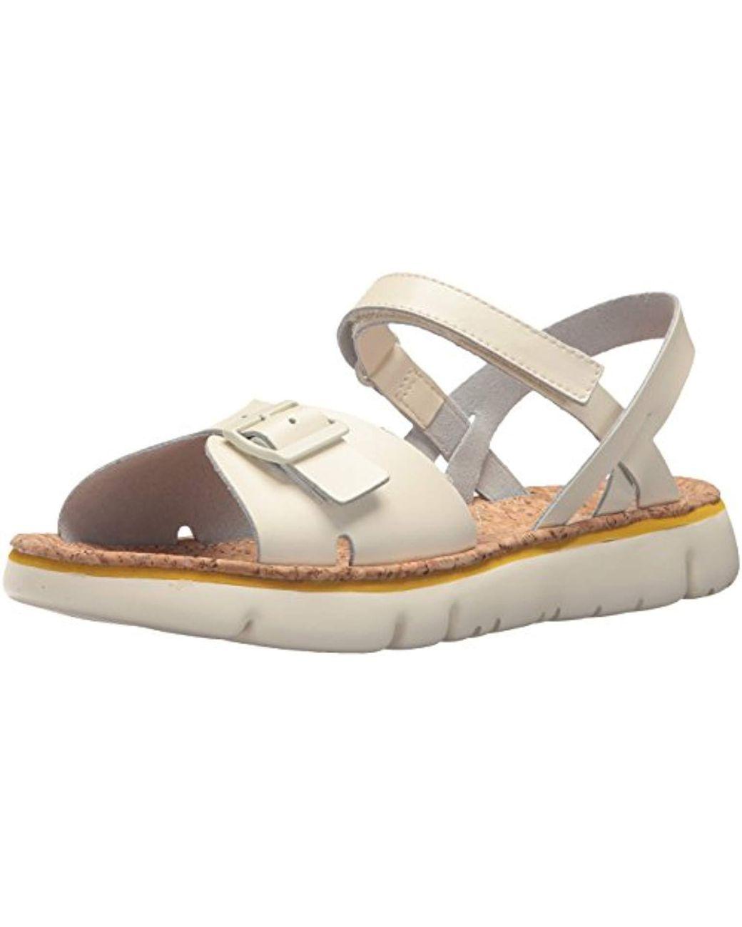 adc5add25881 Lyst - Camper Oruga Sandal K200631 Flat in White - Save 29%