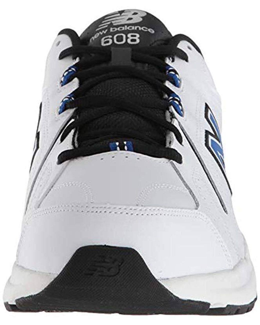 Men's Black 608v5 Casual Comfort Cross Sneaker Shoe