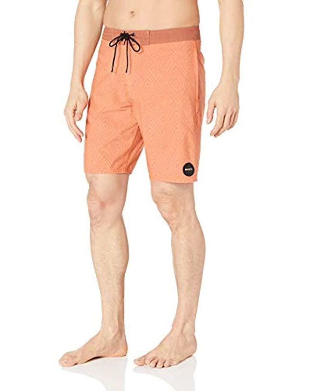 RVCA Mens Pulled Lines 19 Trunk