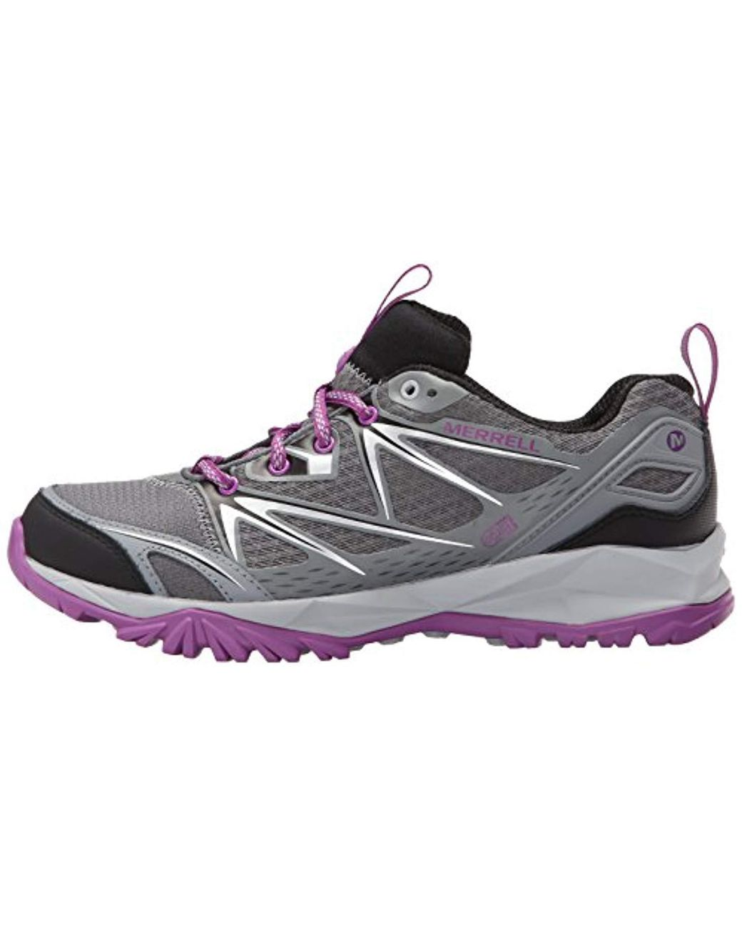 MERRELL CAPRA BOLT LADIES GORE TEX LACE UP WATERPROOF WALKING TRAINERS SHOES