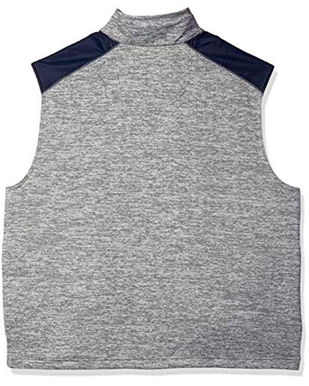 Izod Men/'s Big and Tall Spectator Fleece Jacket