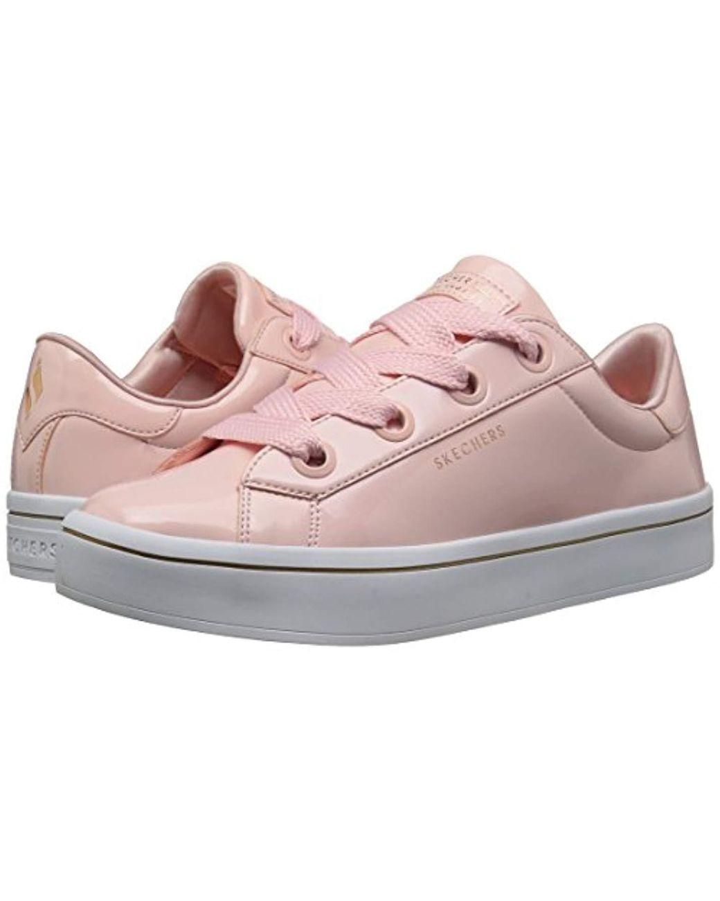 Women's Pink Hi lite patent Lace Sneaker
