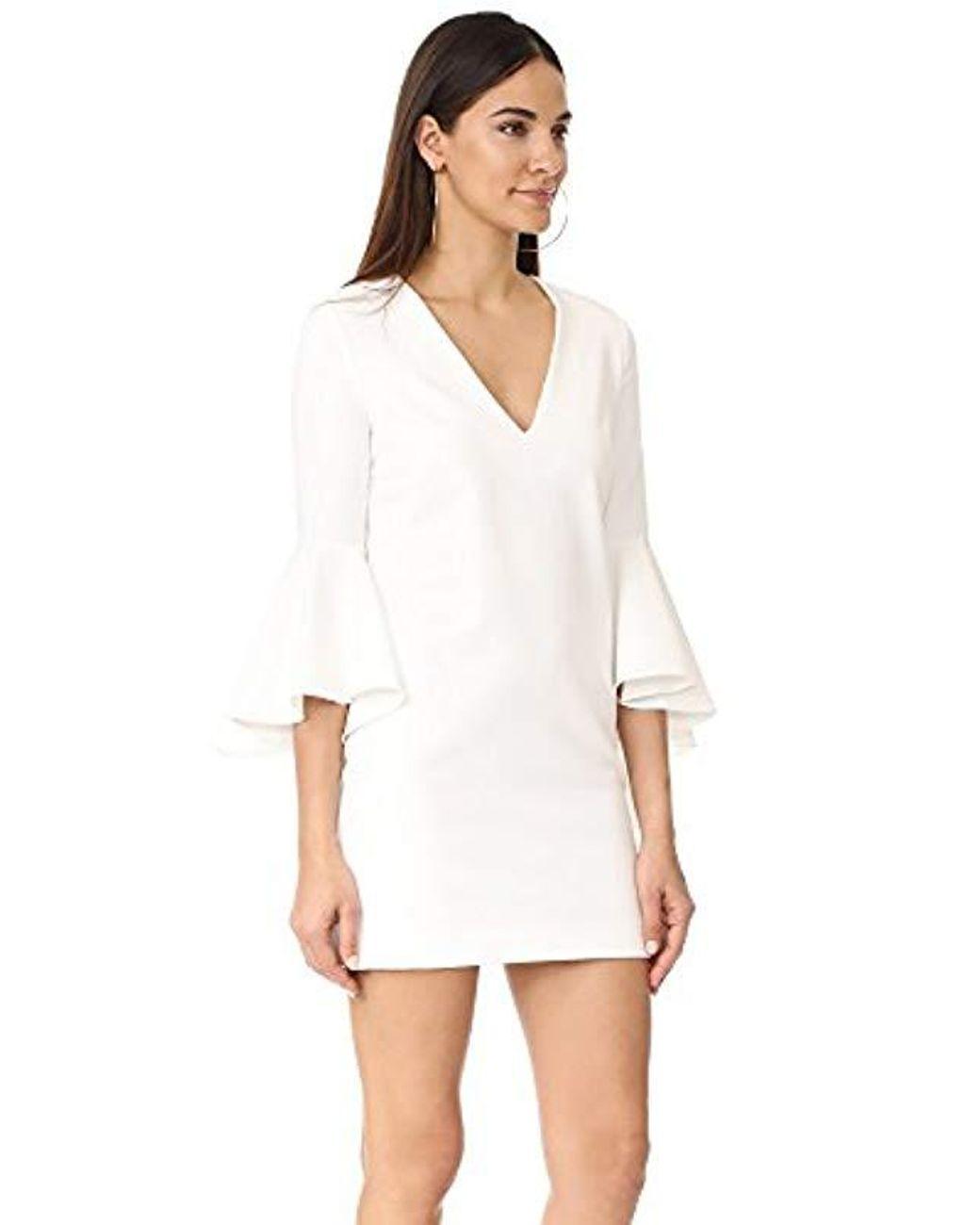 Italian White Mini Dress