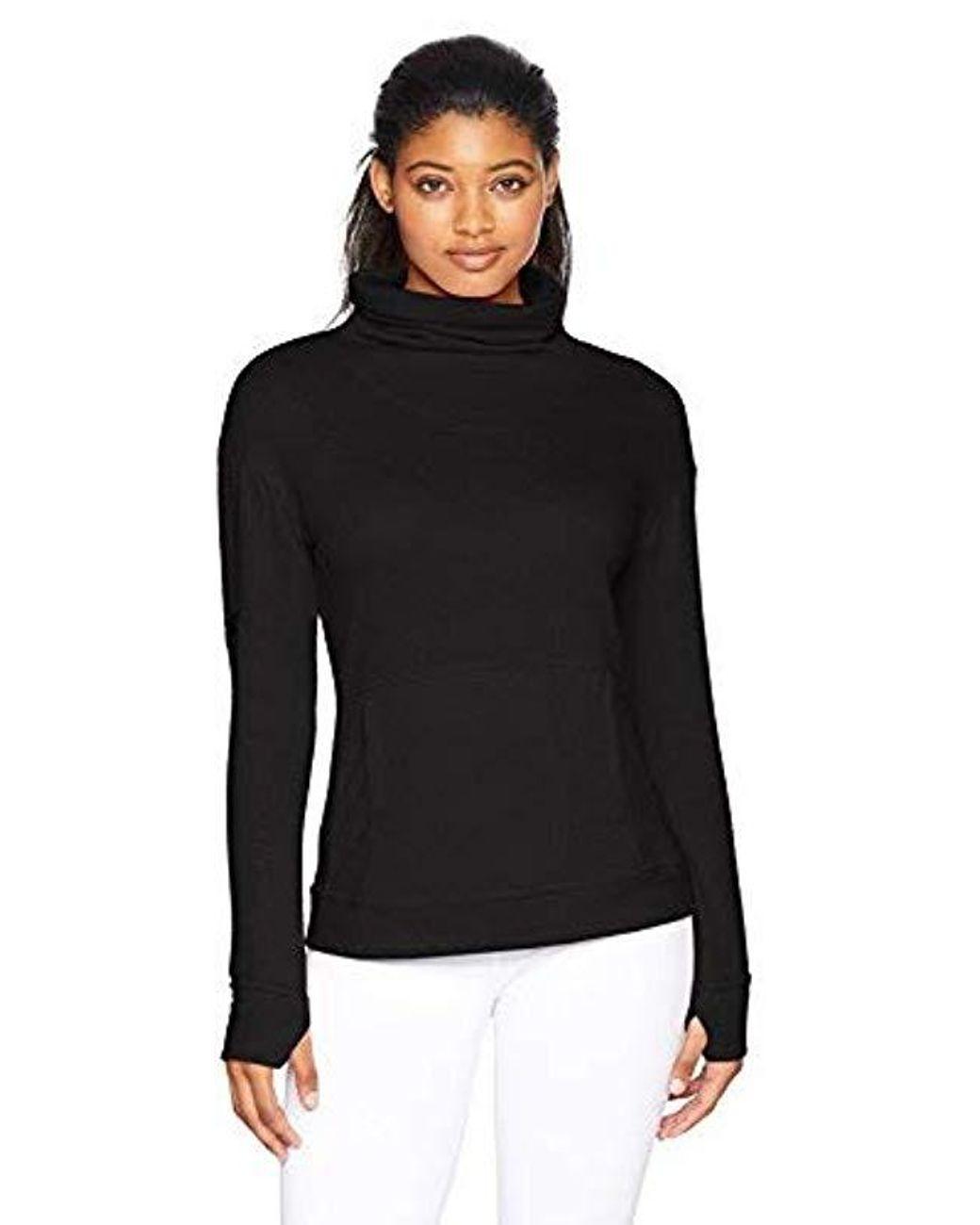 Danskin Womens Comfy Pullover Sweatshirt Sweatshirt