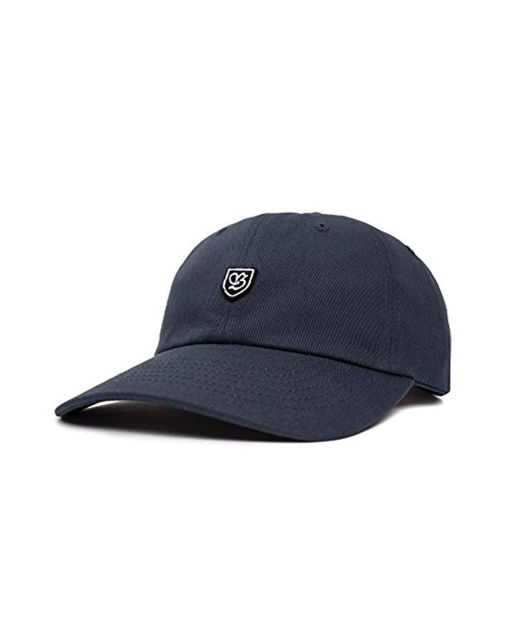 5f9f47cc5c80f Brixton B-shield Ii Low Profile Unstructured Adjustable Hat in Blue ...