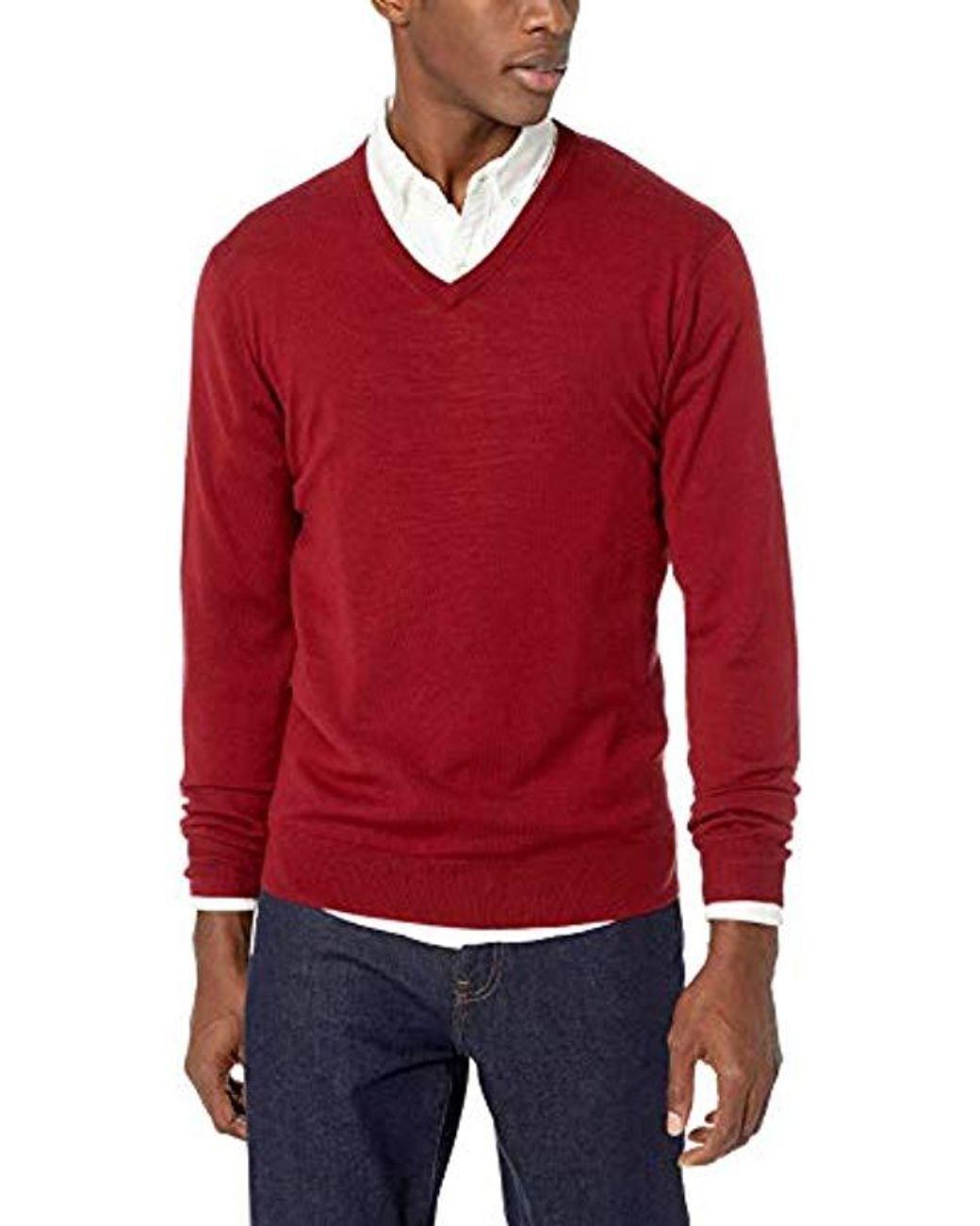 Brand Goodthreads Mens Merino Wool Crewneck Sweater