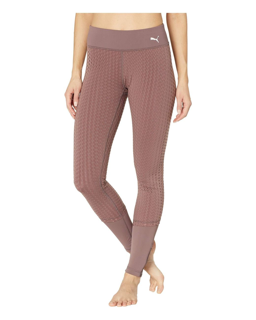 Puma Weave Tight Ladies Performance Tights Pants Trousers Bottoms Lightweight