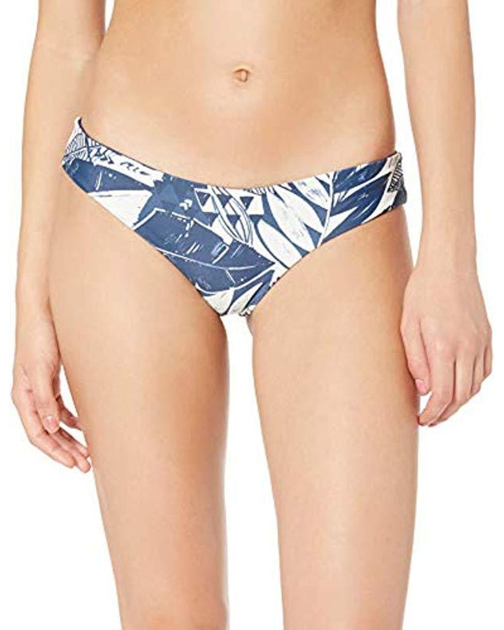 Rip Curl Womens Meadowbrook Cheeky Hipster Bikini Bottom Swim Suit
