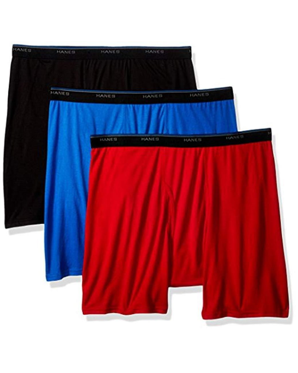 Hanes Red Label Mens ComfortBlend Woven Boxers