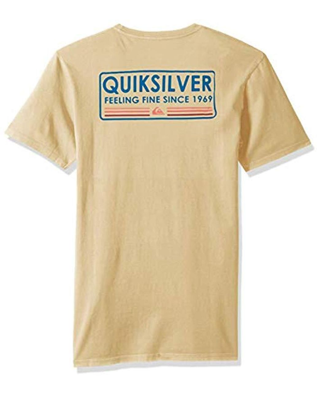 Quiksilver Paddle Forward T-Shirt Blue Mens T-Shirts