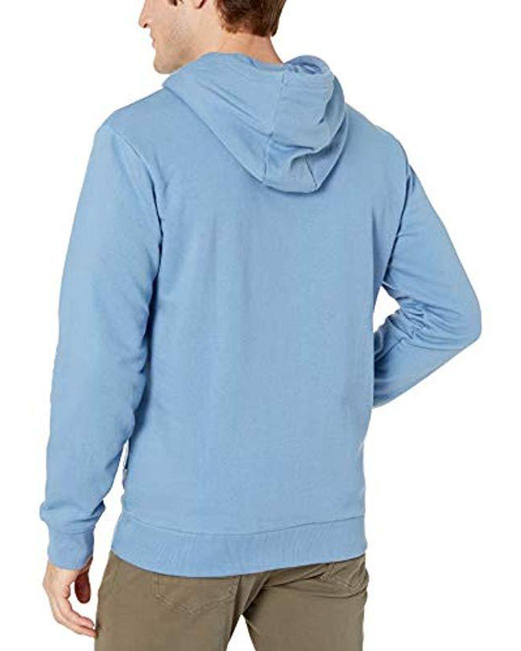 Quiksilver Mens Omni Logo Screen Fleece Pullover