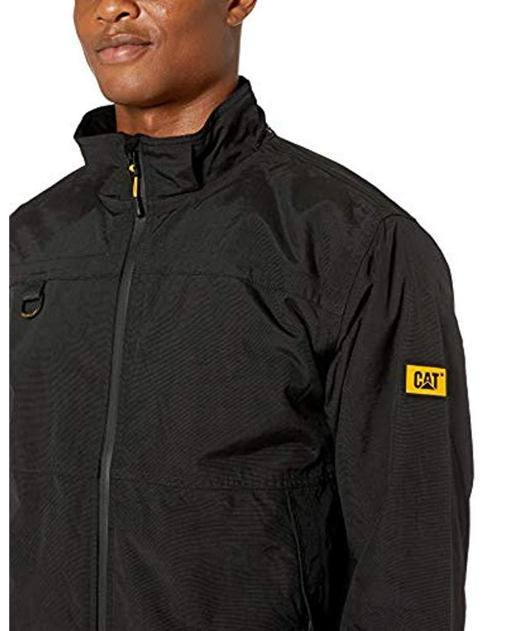 Caterpillar Synthetic Chinook Waterproof Jacket In Black For