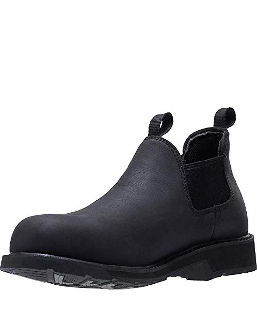 37863a62311 Wolverine Ranchero Romeo Steel Toe Industrial Shoe in Blue for Men ...