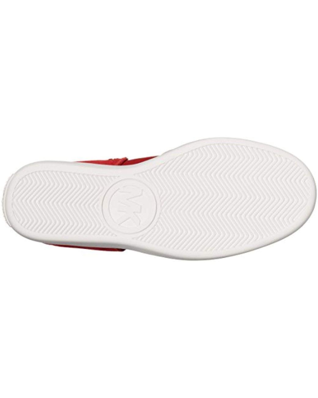 2ed5773b8e255 Women's Red Michael Nikko High-top Black Suprema Nappa Sport Sneaker