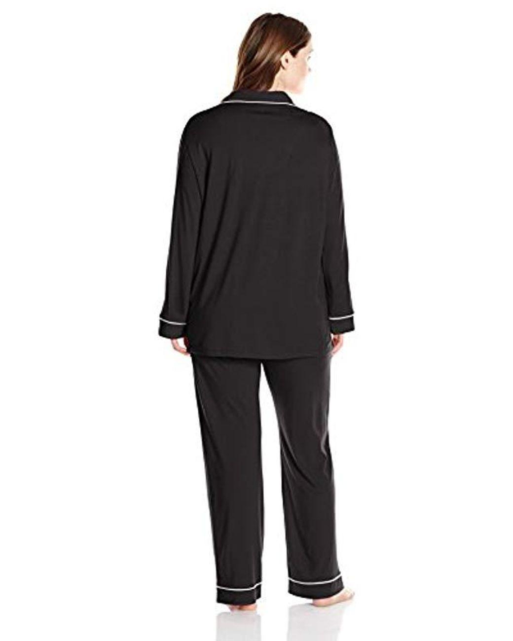Cosabella Womens Bella Plus Size Long Sleeve Robe