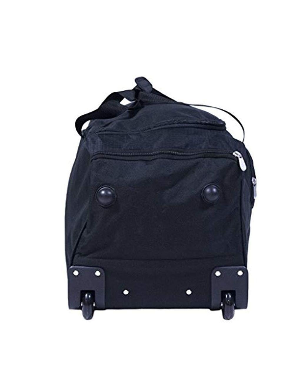 7afb560652b2 Men's Black 36in Rolling Duffel Bag Duffel Bag