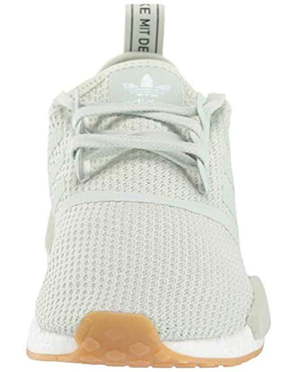 4ffcb1b013fe9 Men's Green Nmd_r1 Running Shoe