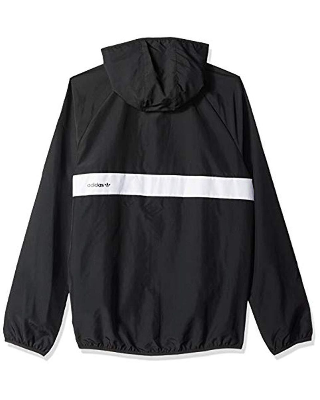 ce6d74b1e Men's Black Skateboarding Packable Wind Jacket
