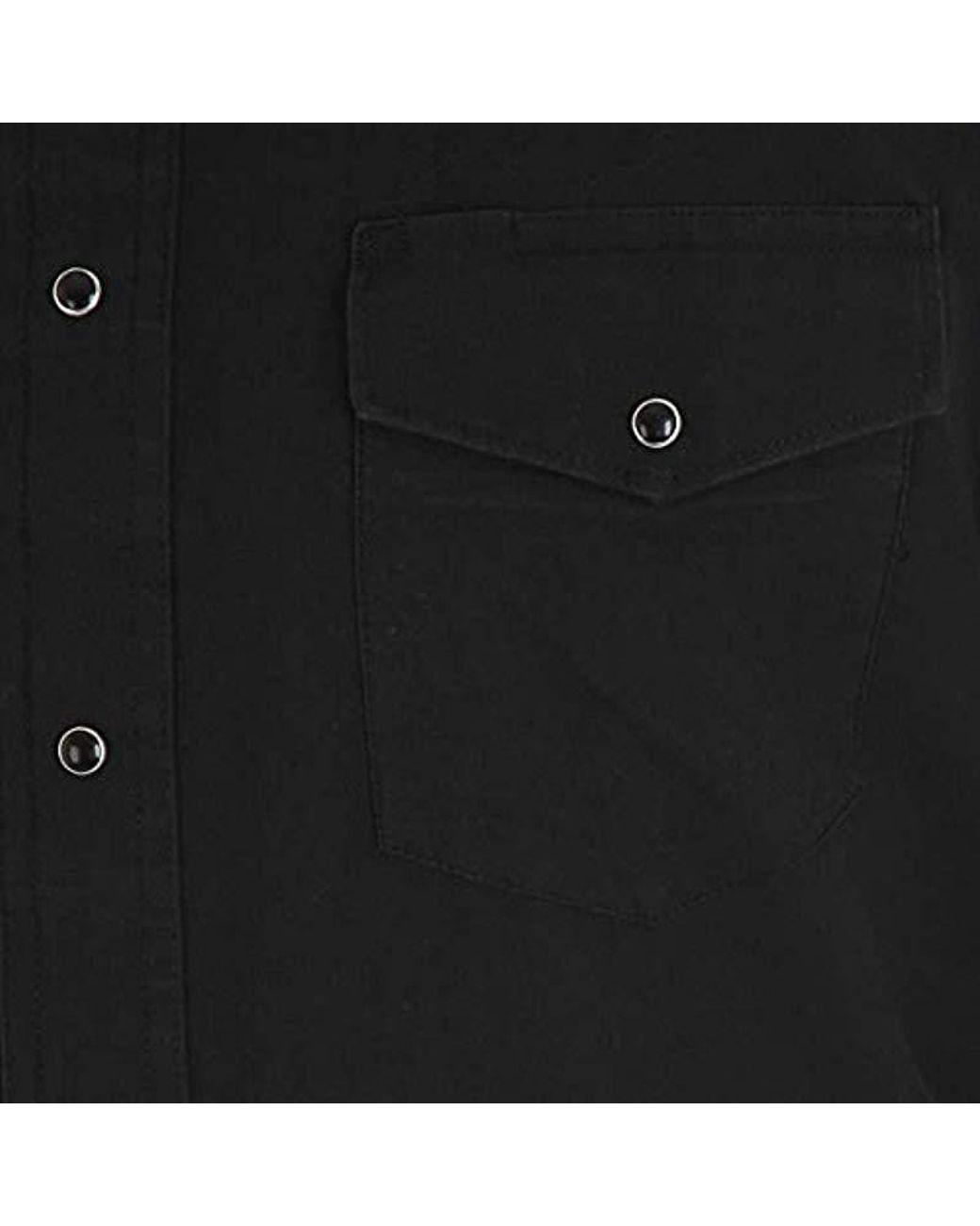 Wrangler Mens Big /& Tall Sport Western Basic Two Pocket Long Sleeve Snap Shirt
