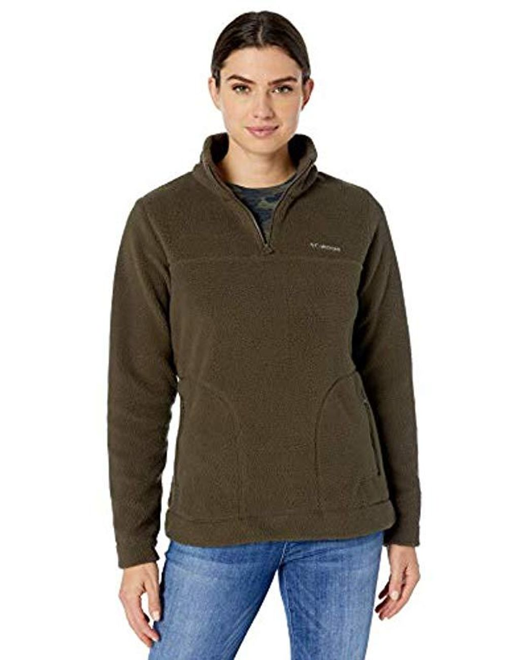 Columbia Womens Canyon Point Cowl Pullover Sweater