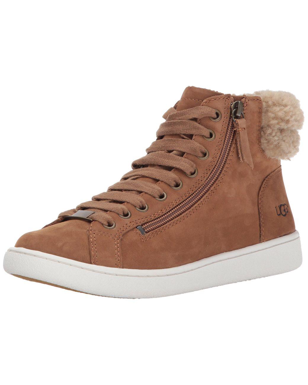 UGG Leather Olive Fashion Sneaker