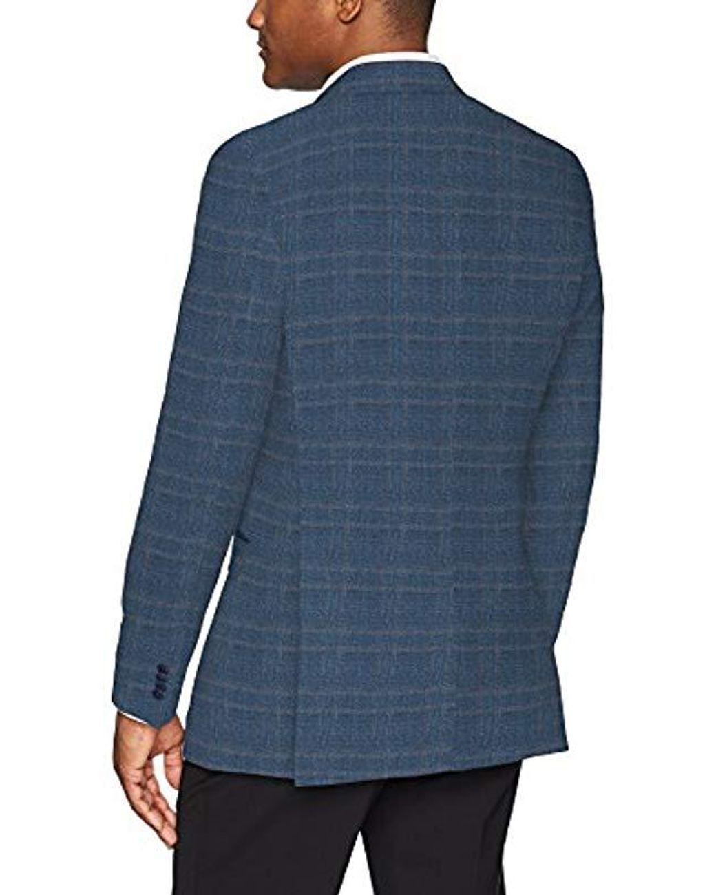 New Navy Sharkskin Tommy Hilfiger Mens Jacket Modern Fit Suit Separates with Stretch-Custom Jacket /& Pant Size Selection 42L