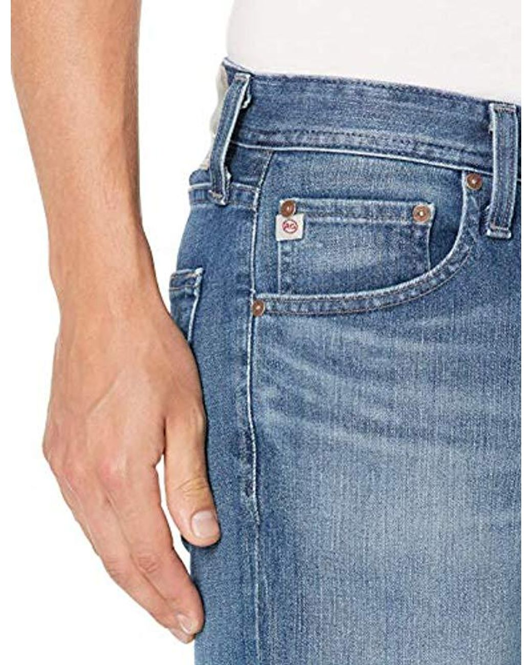 AG Adriano Goldschmied Mens The Dylan Slim Skinny Leg Air Led Denim Pant