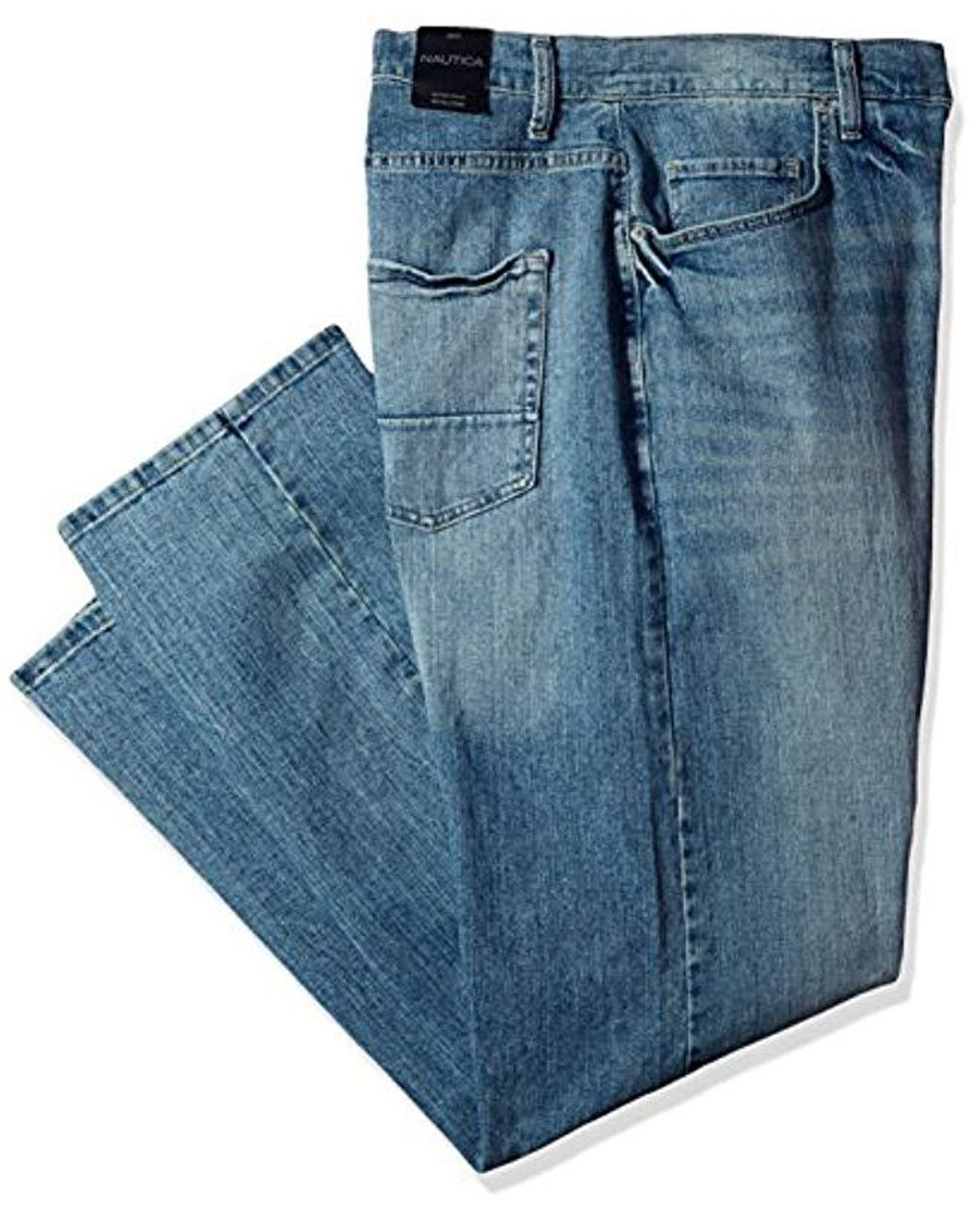 FULL BLUE 5 POCKET RELAX FIT JEANS BIG AND TALL Light Wash
