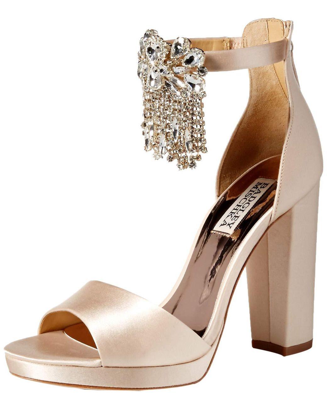 Rebecca Minkoff Christy Leather Block Heel Sandals (475