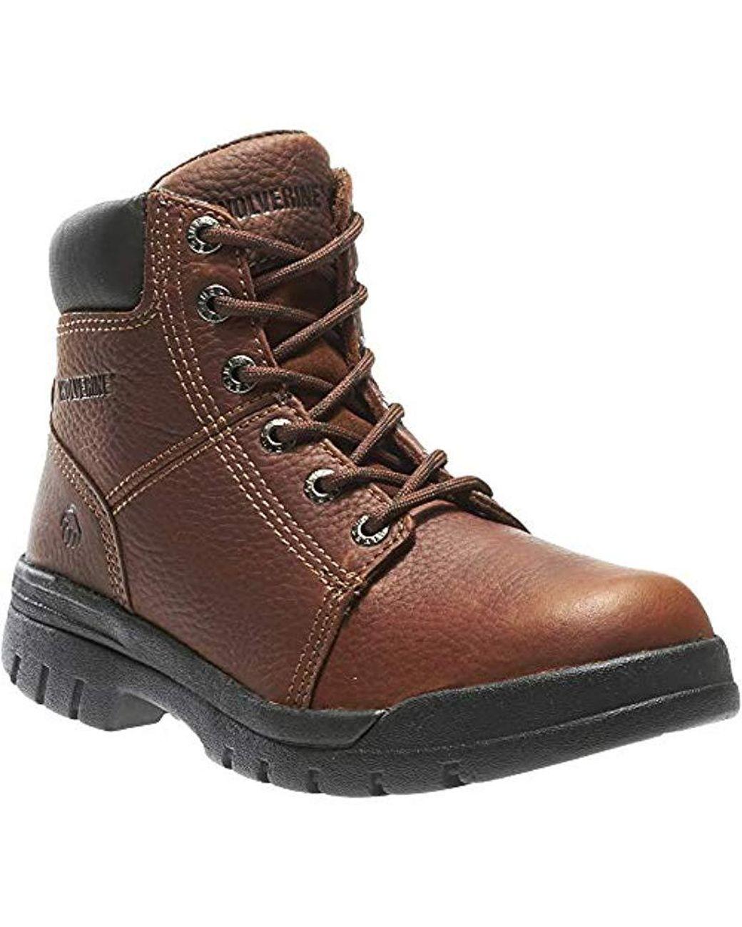 0831dd23569 Men's Brown Marquette W04735 Work Boot
