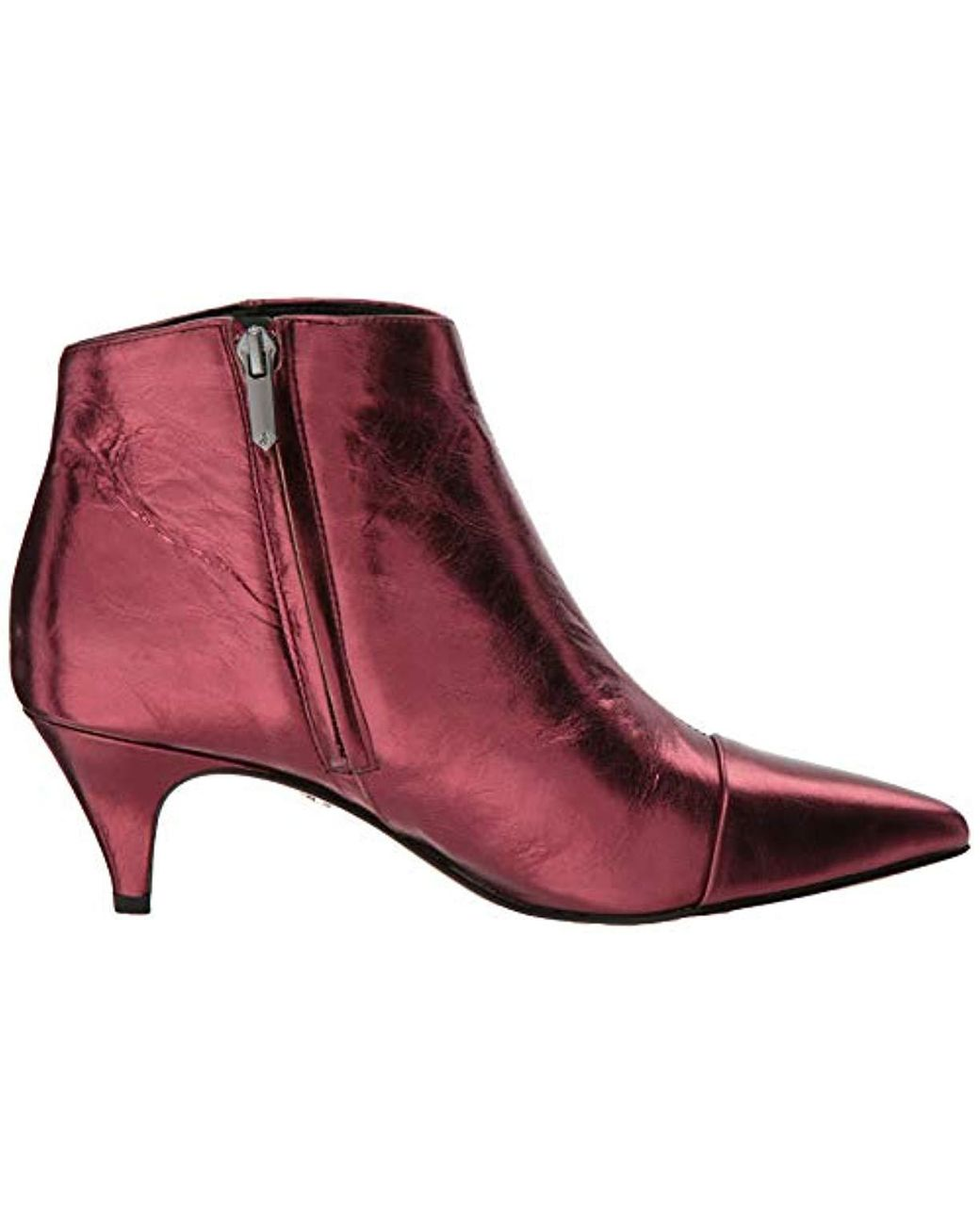 missguided london sale, Missguided – Ankle Boot in Kroko