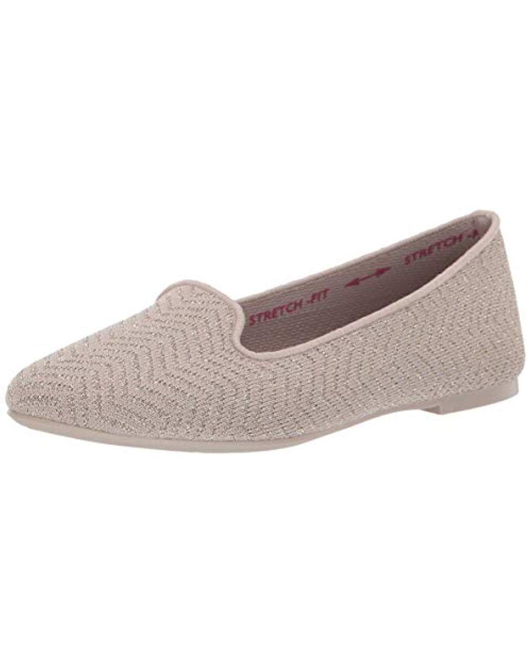Women's Cleo-twist N Shout-metallic Engineered Knit Loafer Ballet Flat