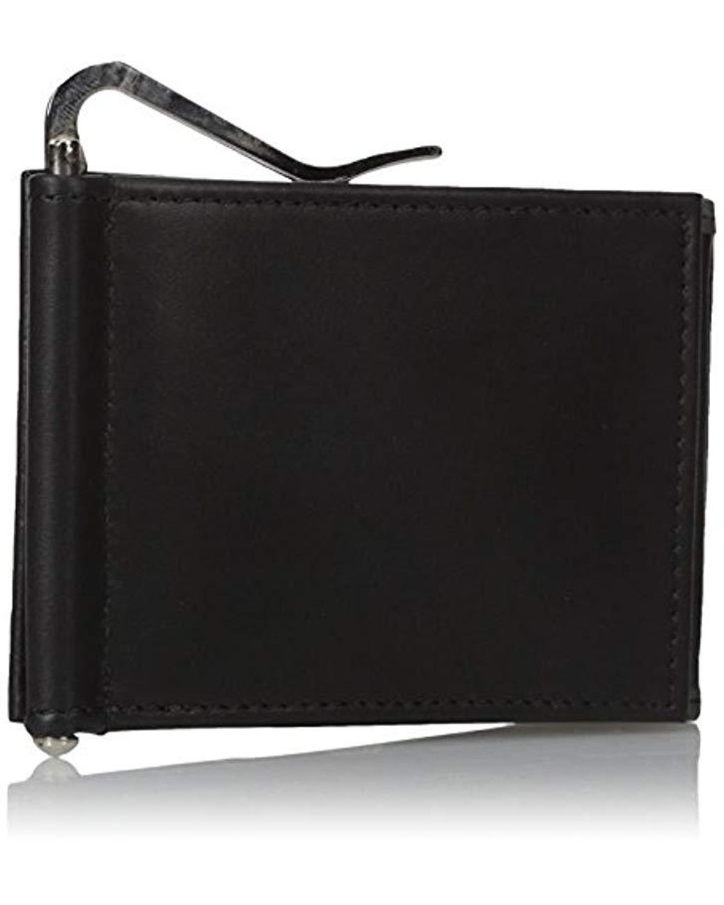 Buxton Men/'s Bellamy RFID Blocking Leather Z-Fold Wallet with Money Clip