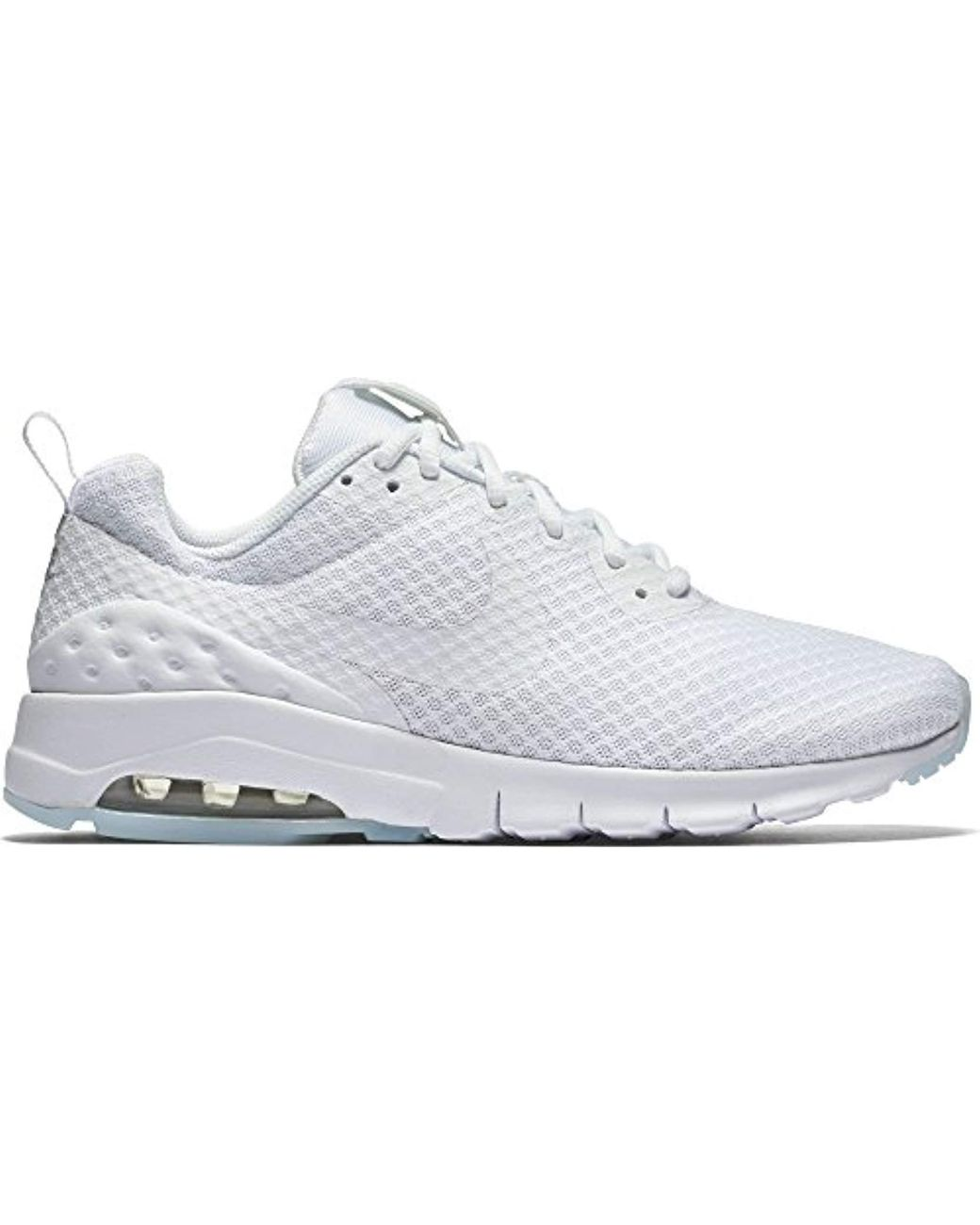 Nike Wmns Air Max Motion Lw Gymnastics Shoes in WhiteWhite