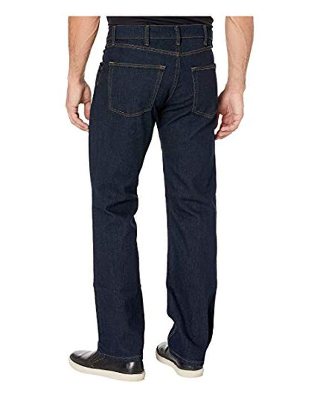 Men's Blue Grit n grind Flex Denim Work Pant (straight Fit)