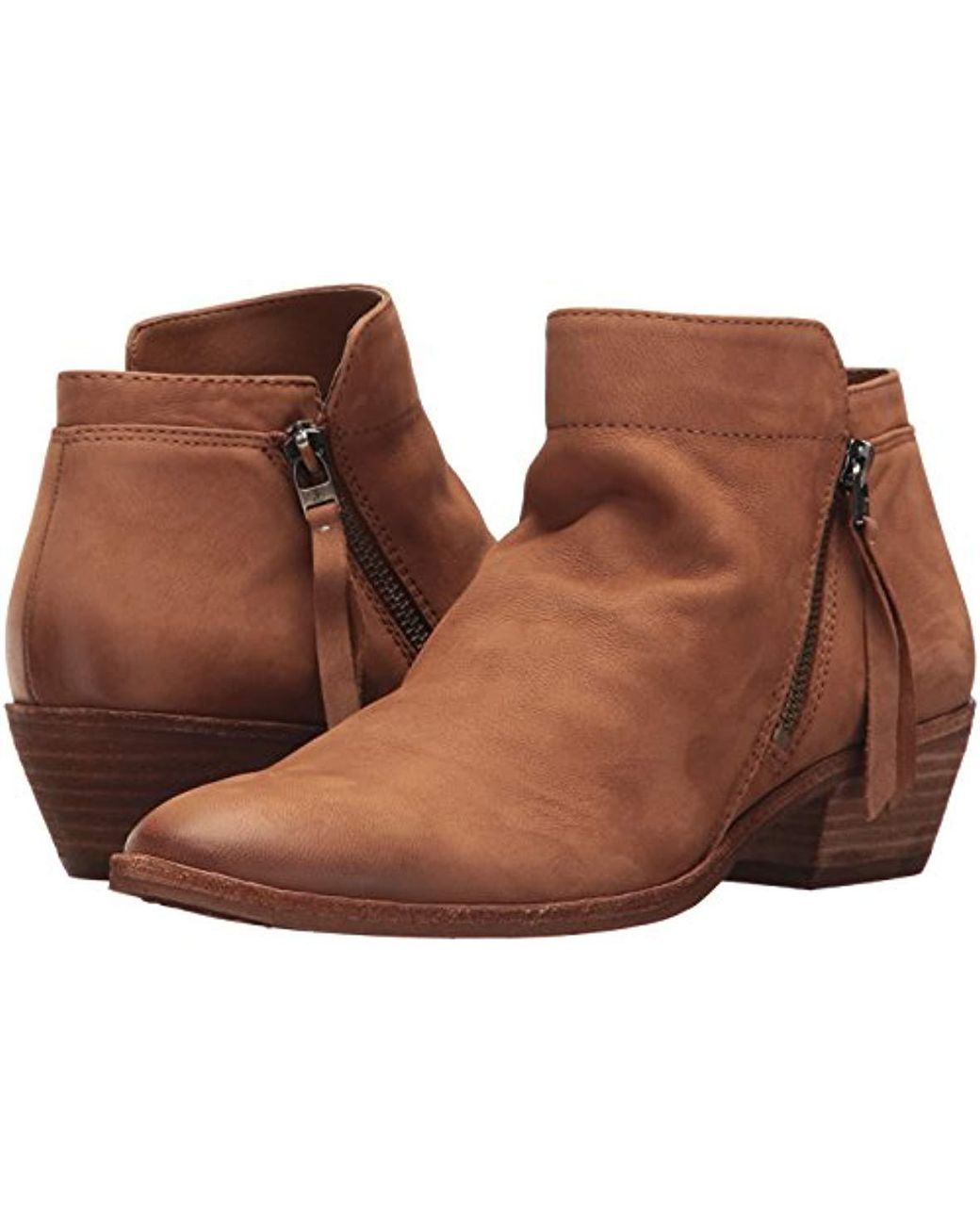 11efddac1 Lyst - Sam Edelman Packer Ankle Boot in Brown - Save 1%