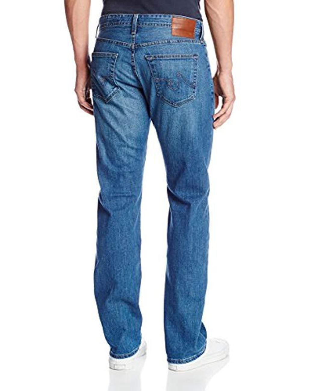 AG Adriano Goldschmied Mens The Prot/ég/é Straight-Leg Jean In 11 Years Wildcraft