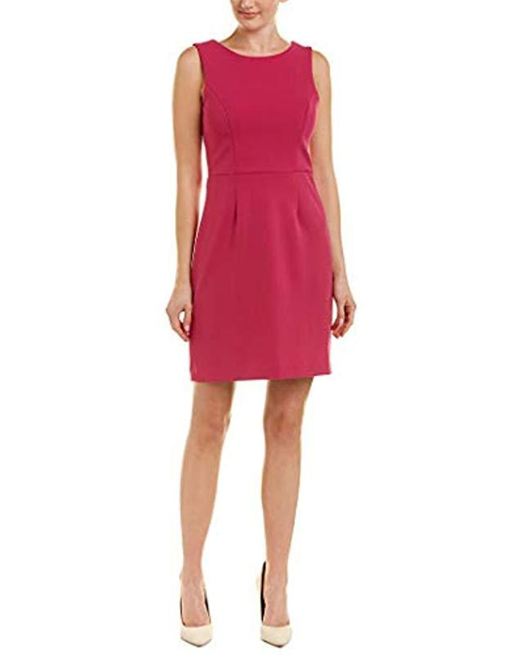 96f8945f335f Long-Touch to Zoom. Long-Touch to Zoom. 1; 2. Betsey Johnson - Pink Scuba  Crepe Dress With Cutout Back ...