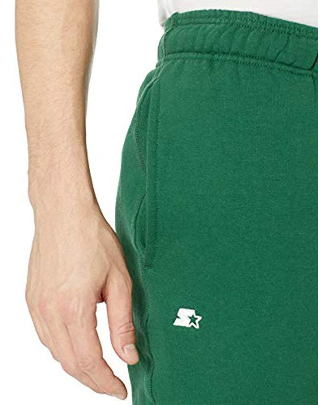 Starter Mens Elastic-Bottom Sweatpants with Pockets Exclusive